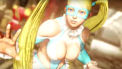 Rainbow Mika nel roster di Street Fighter V