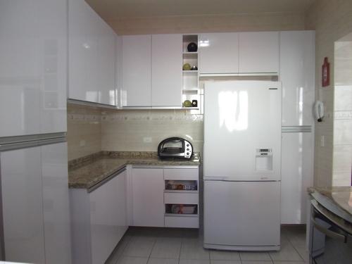Móveis Sob Medida  Jair F Stocco Cozinhas # Armario De Cozinha Em Cima Da Geladeira