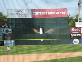 Center Field Lighthouse at Hadlock Field