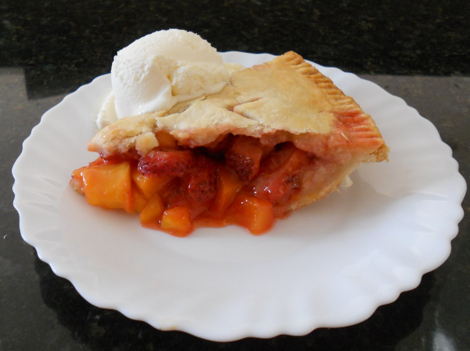 Food Flips ~ Finding the Fun in Food !: Mango Strawberry Pie
