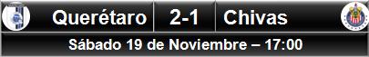 (8) Querétaro 2-1 Chivas (1)
