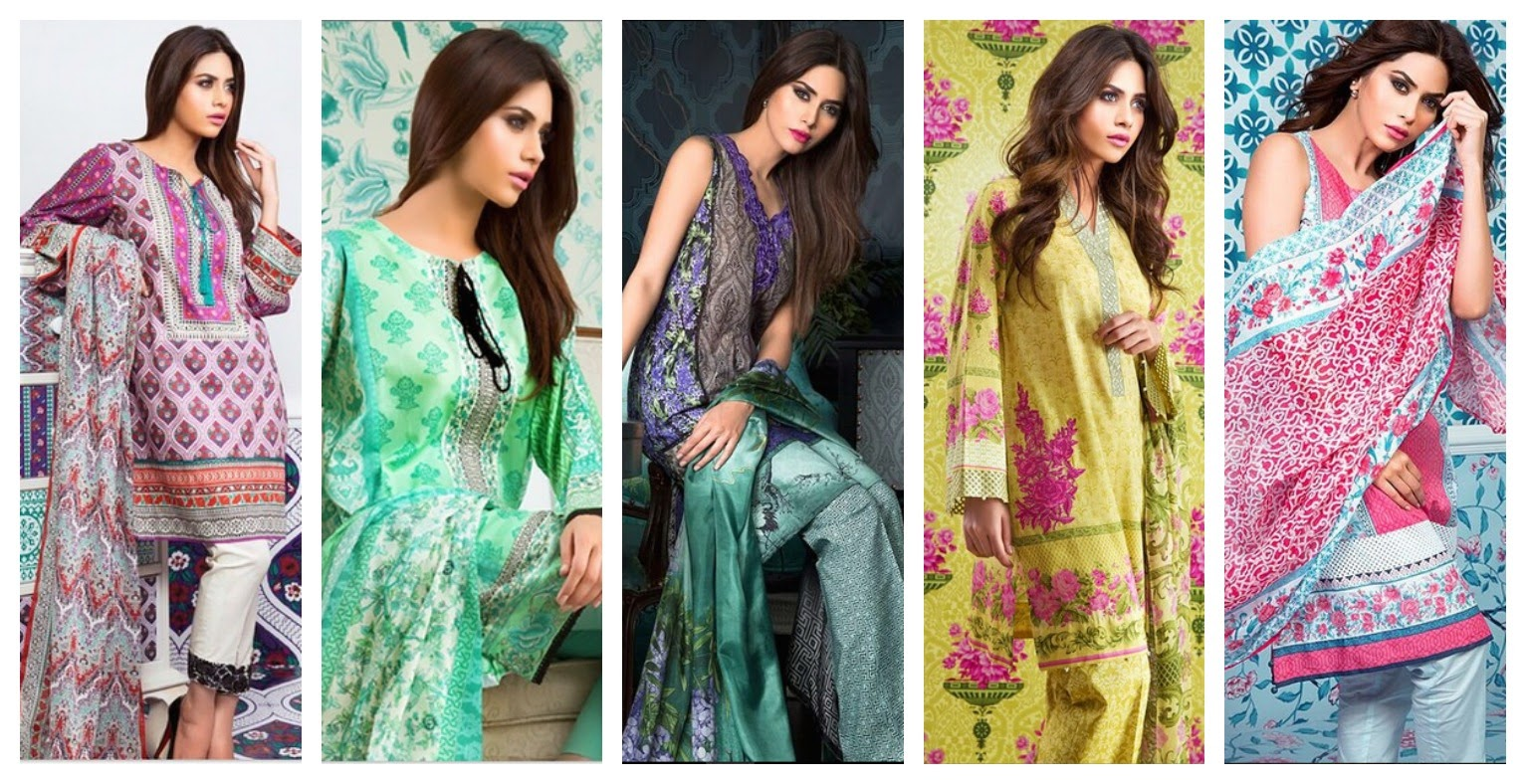 Sapphire's unstitched lawn collection