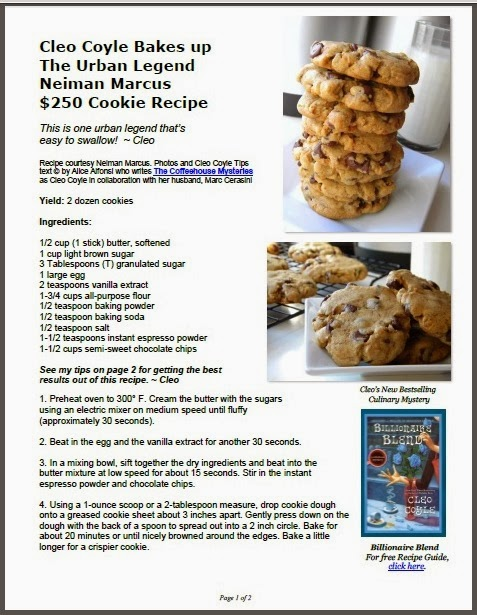 http://www.coffeehousemystery.com/userfiles/file/Cleo-Coyle_Chocolate-Chip-Urban-Cookies.pdf
