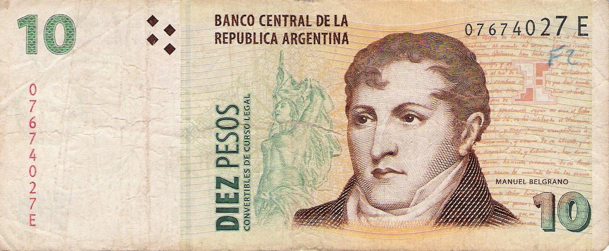 el dinero en argentina:
