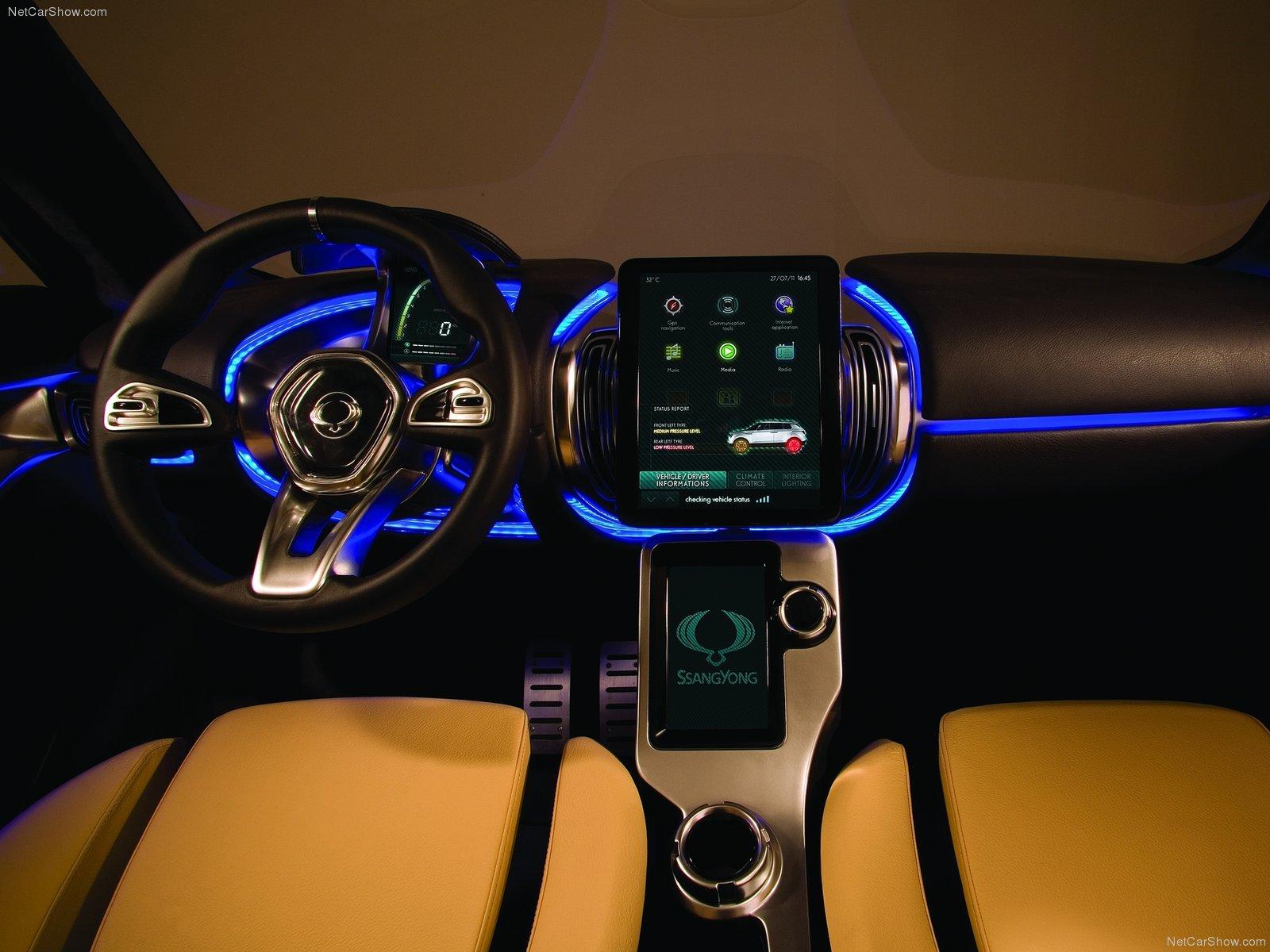 Hình ảnh xe ô tô SsangYong XIV-1 Concept 2011 & nội ngoại thất