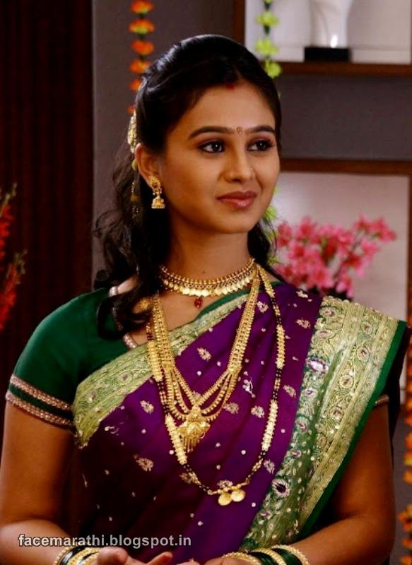 Mrunal Dusanis Tu Tithe Mi - Marathi love prem sms message quotes ...