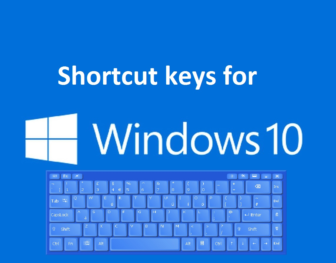Keyboard shortcut keys for windows 10 blogmytuts for Window keyboard