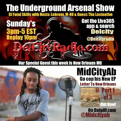 http://www.mixcloud.com/DelCityRadio/the-underground-arsenal-show-with-special-guest-midcityab/