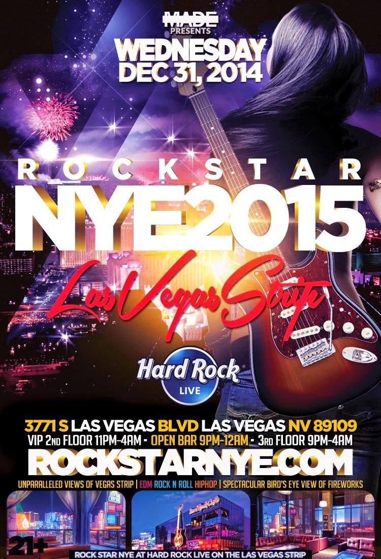"""Hard Rock Vegas New Years Eve 2015"""