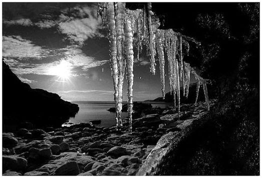 Day 1 this was a photo i took in portling on the solway coast during the worst snow in scotland for 30 years i love the moody feel and the way the rock