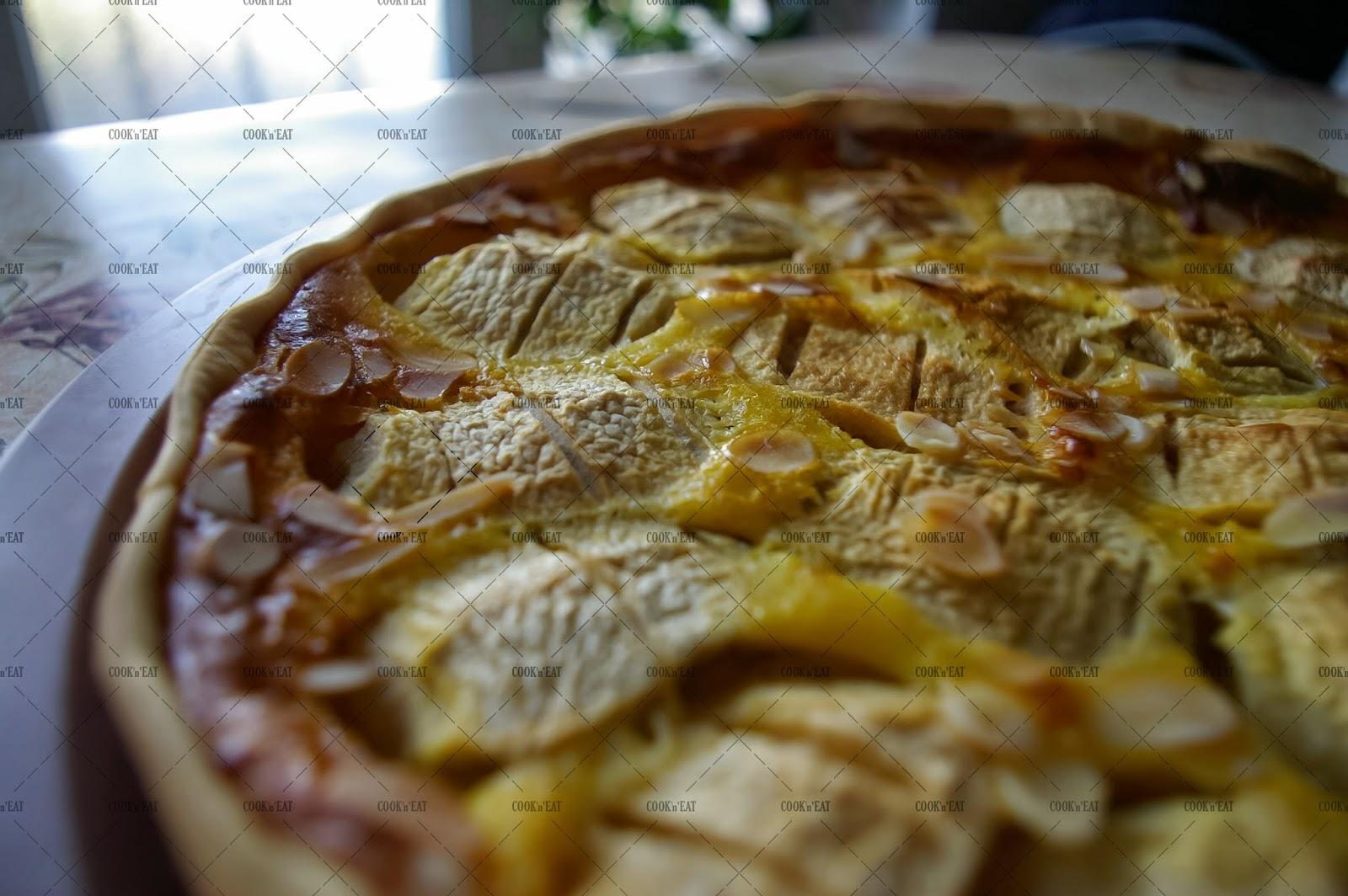 cook 39 n 39 eat recette de tarte aux pommes alsacienne. Black Bedroom Furniture Sets. Home Design Ideas