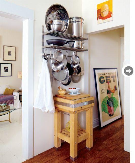 Small And Cozy Kitchen Ideias De Fim De Semana: Formosa Casa: Como Organizar Panelas