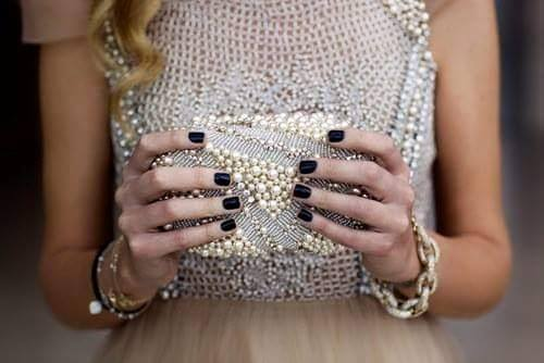 Black Nails, Clutch  | Nails