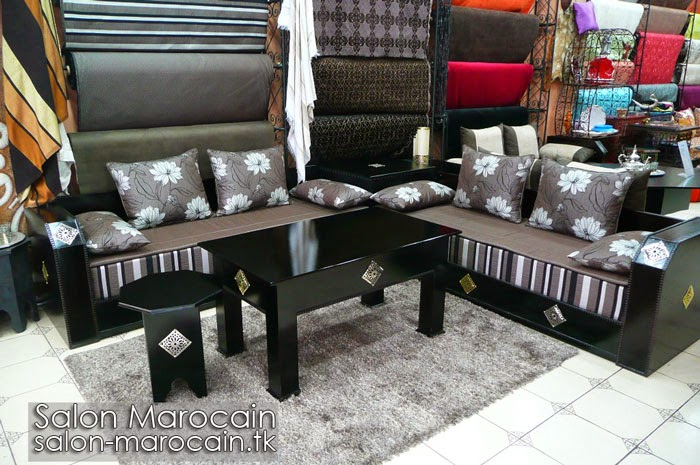 Incroyable Salon marocain moderne 2014