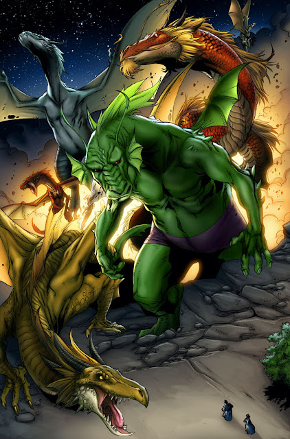 Fin Fang Foom (Marvel Comics) Character Review - 2