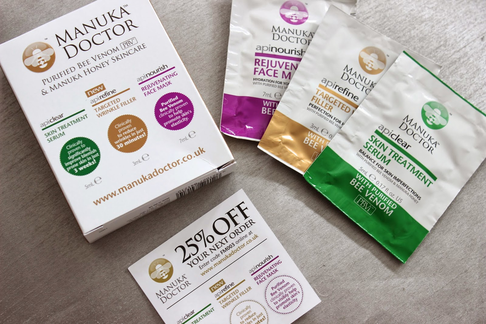 Manuka Doctor FREE Mini Hero Kit!