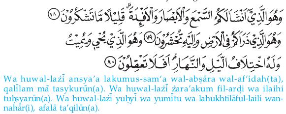 Sifat-Sifat Allah Swt. dalam Ayat-Ayat Al-Qur'an