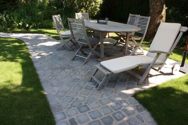 Paysagiste val d 39 oise cr ation jardin 95 terrasse et for Prolongement toiture pour terrasse