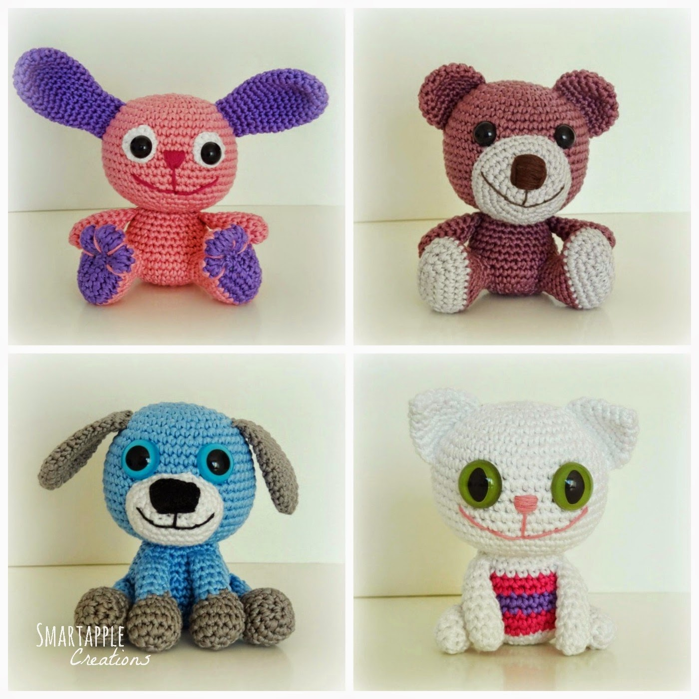 Smartapple Creations - amigurumi and crochet: Crocheted ...