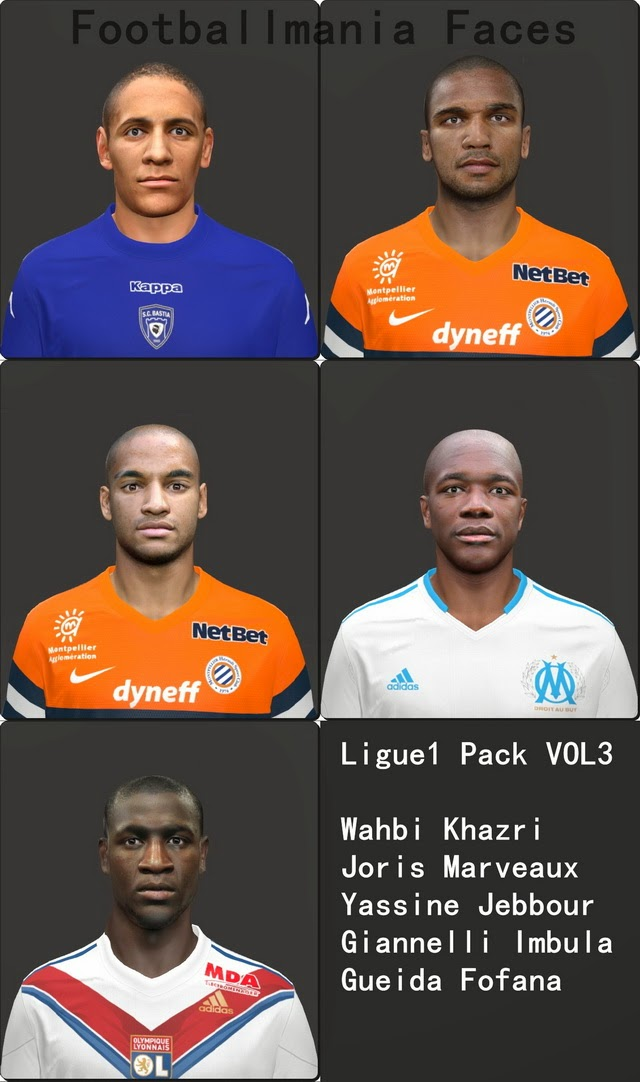 PES 2014 Ligue1 Pack vol.3 by Footballmania
