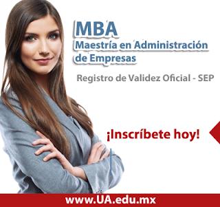 Inscríbete en el MBA