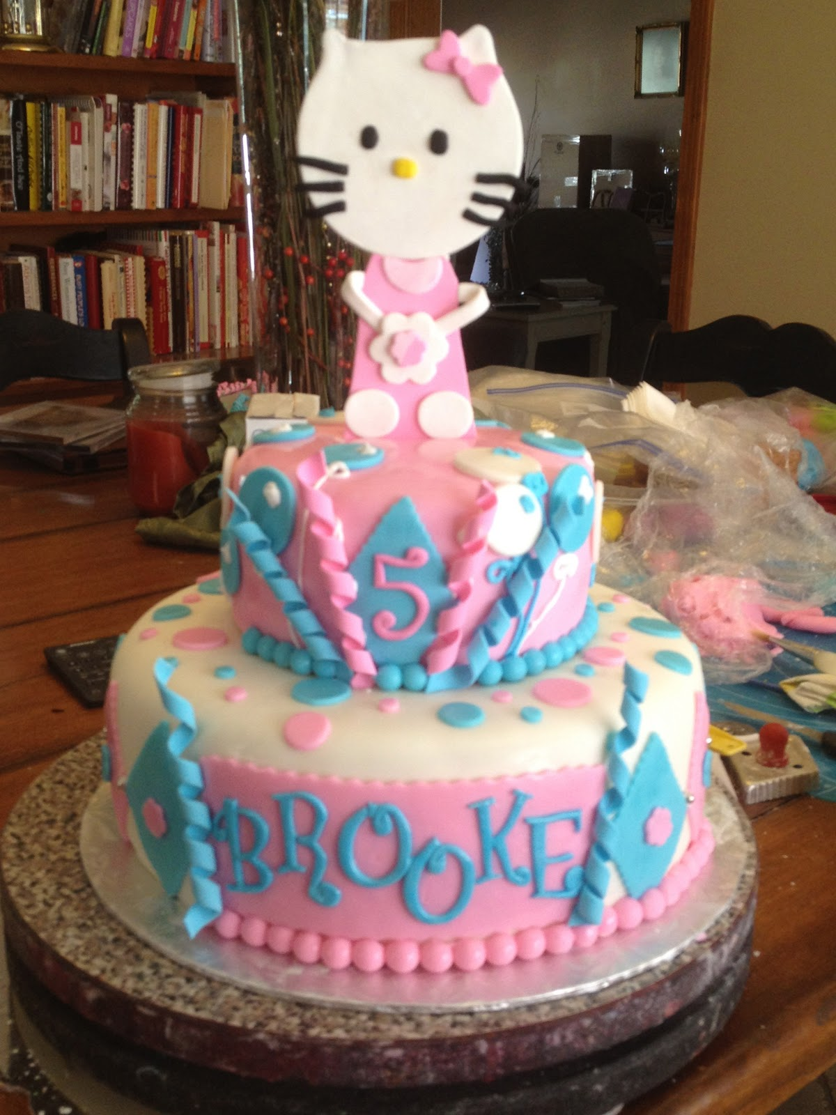 Learning To Fly Cakes And Pastries Brooke S Hello Kitty