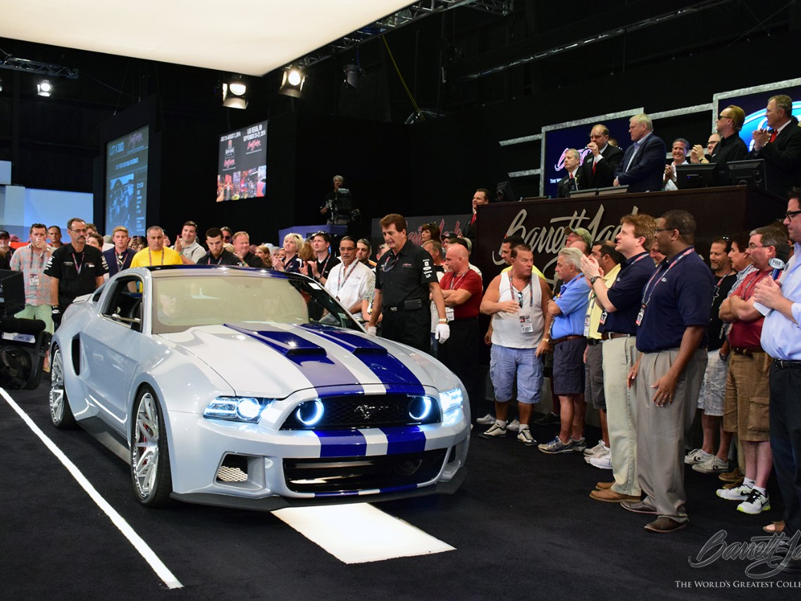 Need for Speed Mustang Earns $300,000 for Henry Ford Health System