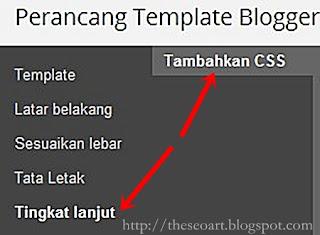 mengganti background blog dengan css