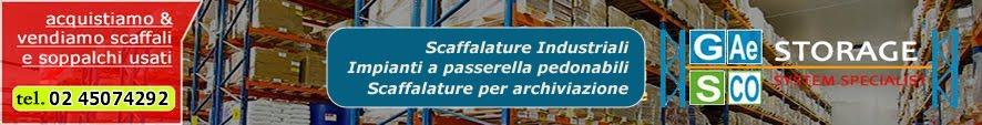 TUTTOSCAFFALI.IT - Scaffalature Industriali, Arredi Metallici, Arredi ufficio