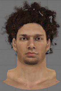 NBA 2K13 Robin Lopez Cyberface Patch