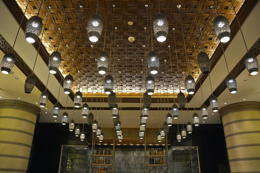 Restaurant Mosaic Kuala Lumpur lights