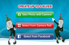 ElfYourself disponible para iPad, iPhone y iPod Touch.