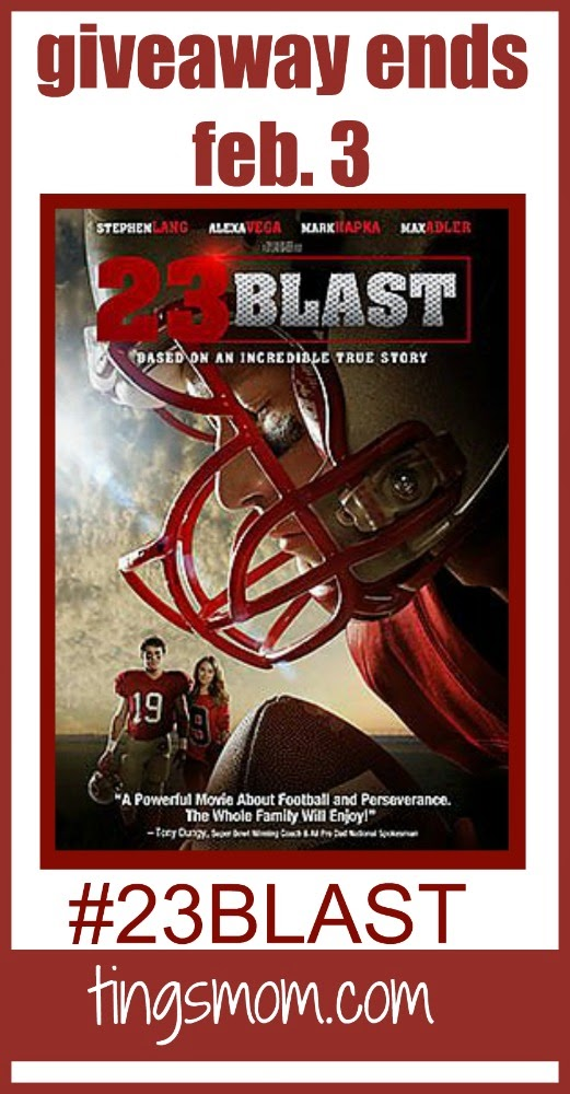 23 blast movie giveaway