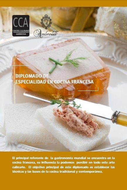 Festivales gastron micos diplomado en cocina francesa cca - Curso de cocina francesa ...