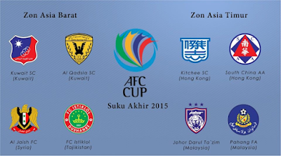 result Pahang Vs Istiklol FC 16 Sept 2015 AFC Cup