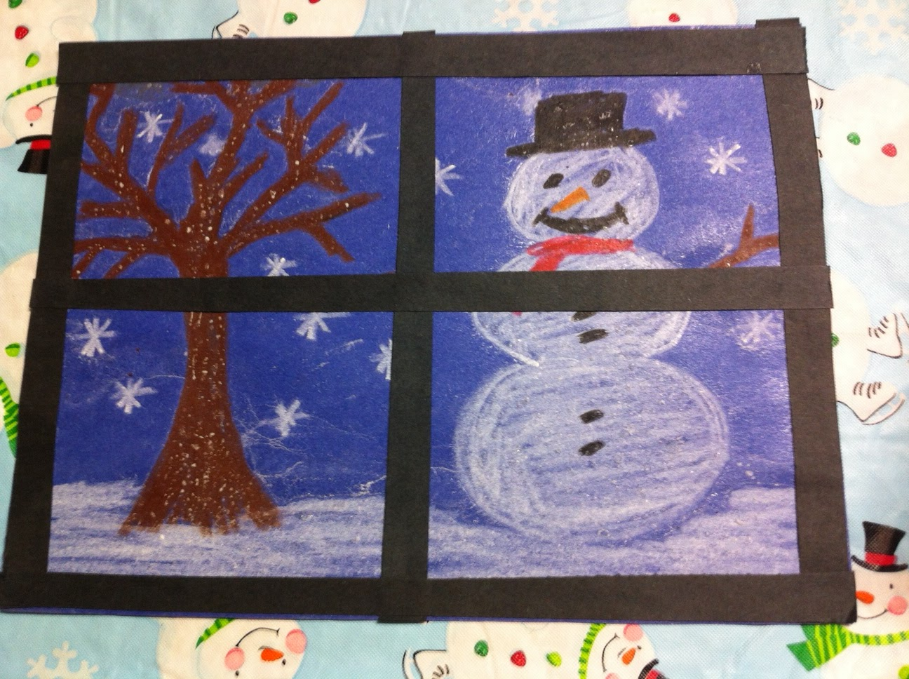Kindergarten kids at play fun winter christmas craftivities for Holiday project
