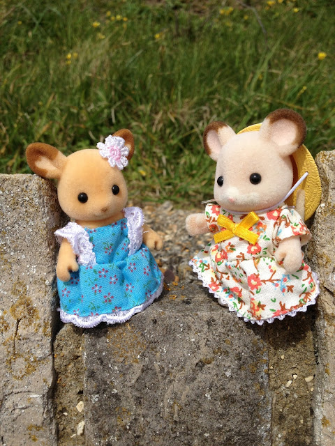 Sylvanian Families Fielding Mouse Buckley Deer