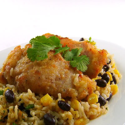 and black bean green chili rice skillet chicken and black bean green ...