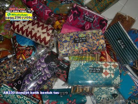 dompet batik bentuk tas murah