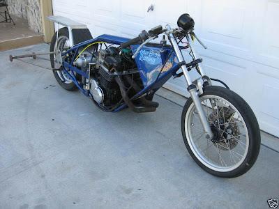 Modifikasi Honda CB Drag Bike