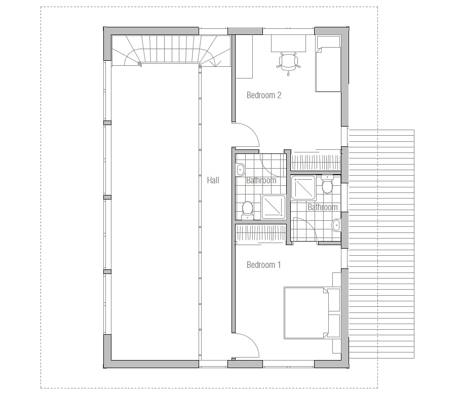 Contemporary home floor plans home mansion for Modern contemporary house design with floor plan