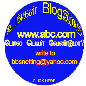 Get a .com Domain name for your Blogspot.com Blog.