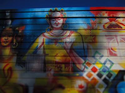 Lama G's Café Mural – Fremont