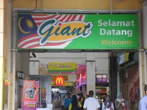 Selamat Datang ke Giant stadium Shah Alam Nu-Prep 100 berada di RY Saloon