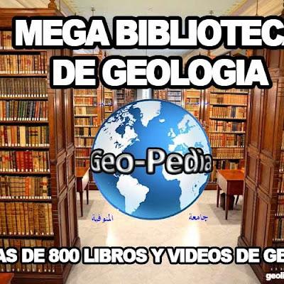 Descargar Mega Biblioteca de Geologia +de 800 libros y videos