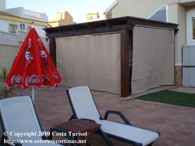 Decoracion interior cortinas verticales estores - Cortinas de loneta ...
