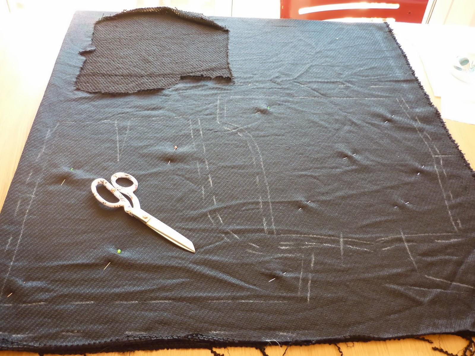 burda biker jacket conjunto chanel modistilla de pacotilla shorts 129 febrero 2013