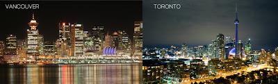 ¿Vancouver o Toronto? Descubra la mejor ciudad de Canadá
