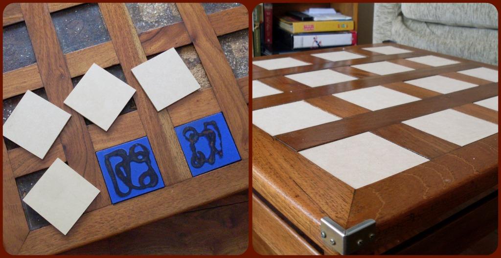 Tus manos y las mias mesa ratona - Mesas con azulejos ...