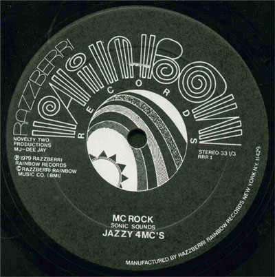 Jazzy 4 MC's - MC Rock [VLS] (1979)[INFO]